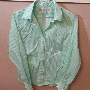 Banana Republic Non Iron Fitted button up